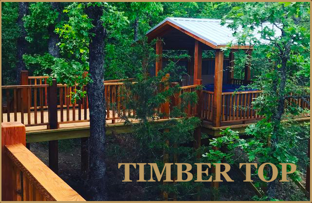 timber top cabin oklahoma